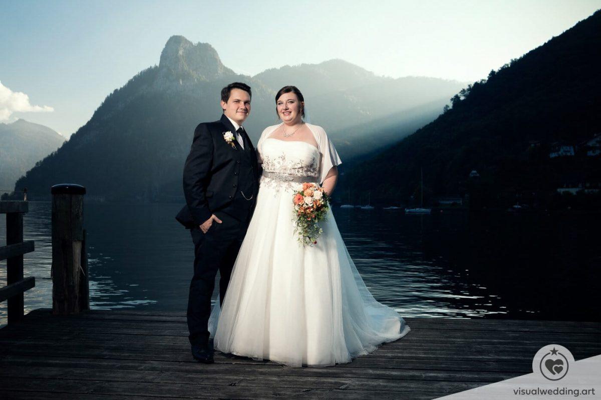 Hochzeitsfotograf After-Wedding-Shooting Traunsee