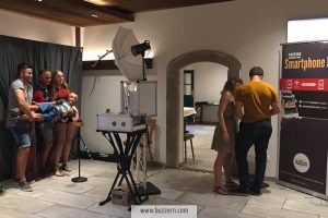Making-of Geburtstagsfeier Fotobox Buzzern