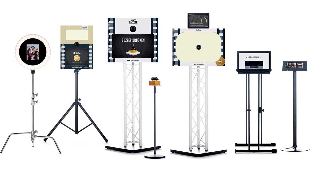 Fotobox Modelle und Varianten