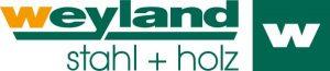 Logo Weyland Stahl + Holz
